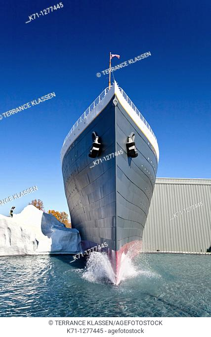The Titanic theater in Branson, Missouri, USA