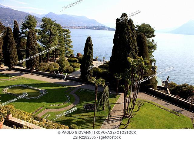 Garden, Isola Bella, Maggiore lake, Stresa, Piedmont, Italy