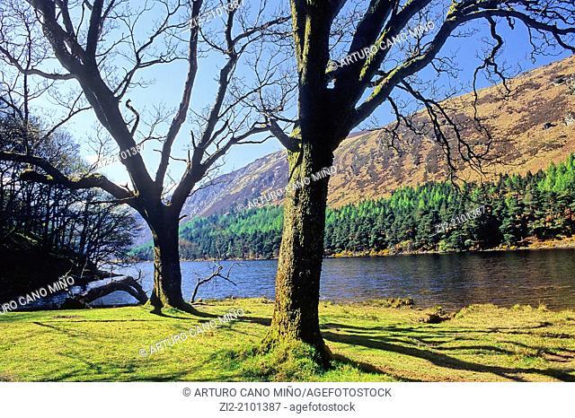 Lower Lake, Glendalough, Republic of Ireland