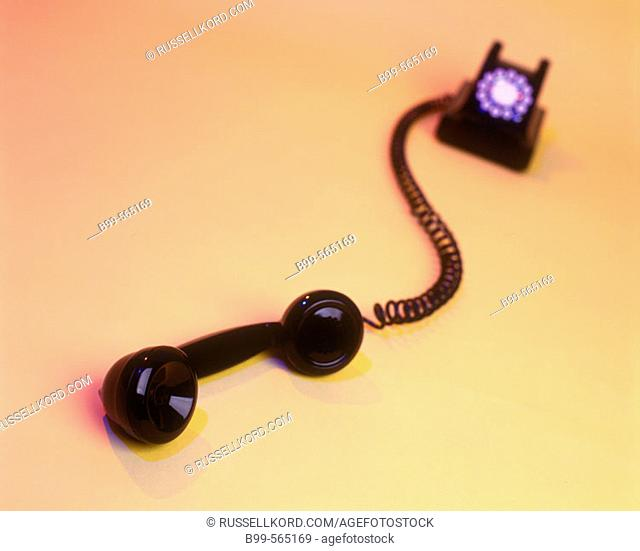 Traditional Black Telephone