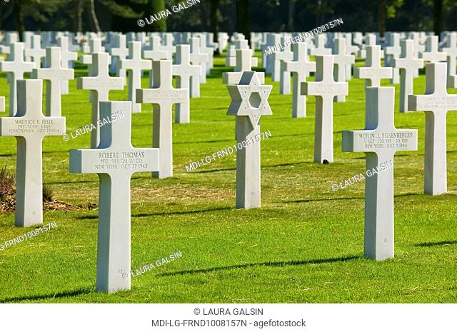France - Normandy - Colleville-sur-Mer - American cemetery