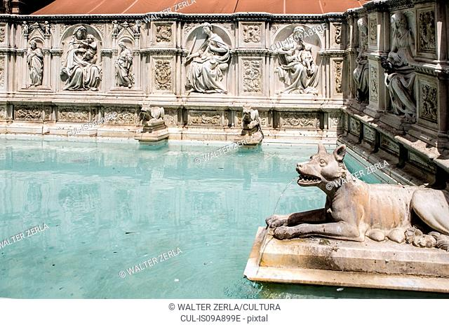 Fountain of Joy, Siena, Italy