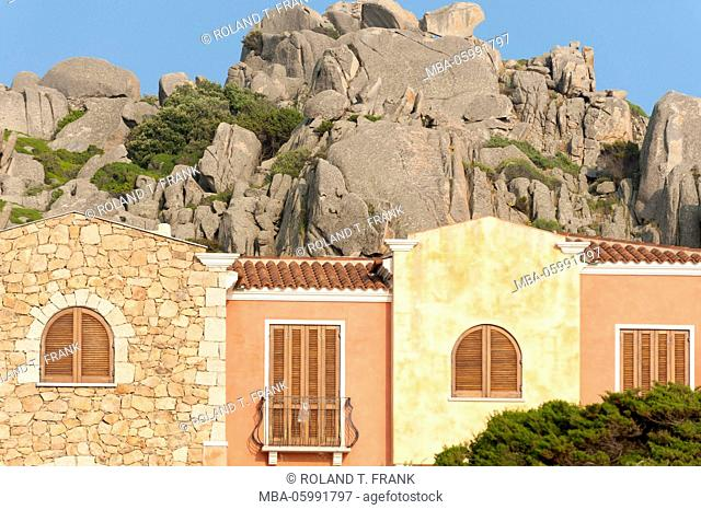Italy, Sardinia, holiday home close Santa Teresa di Gallura