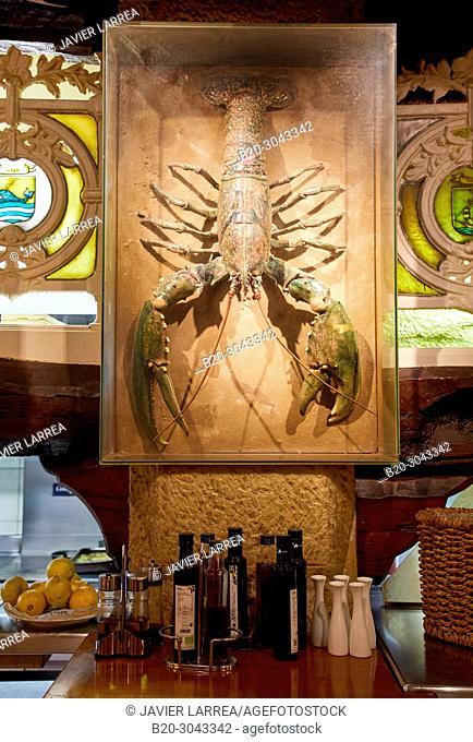 Restaurante Juanito Kojua, Parte Vieja, Old Town, Donostia, San Sebastian, Gipuzkoa, Basque Country, Spain