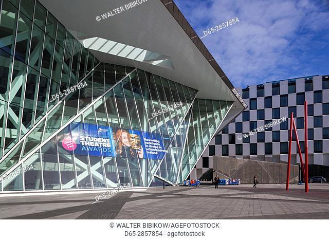 Ireland, Dublin, Docklands, Bord Gais Energy Theater, Daniel Libeskind, architect