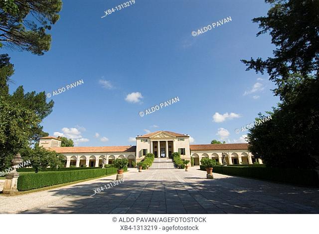 Italy, Fanzolo, Villa Emo by Palladio