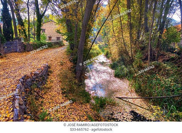 Dulce river. La Cabrera. Guadalajara province, Castilla-La Mancha, Spain