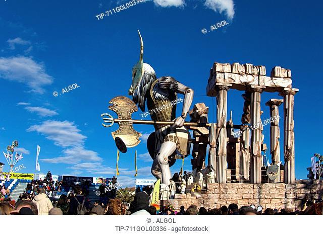 Italy, Tuscany, Viareggio, carnival