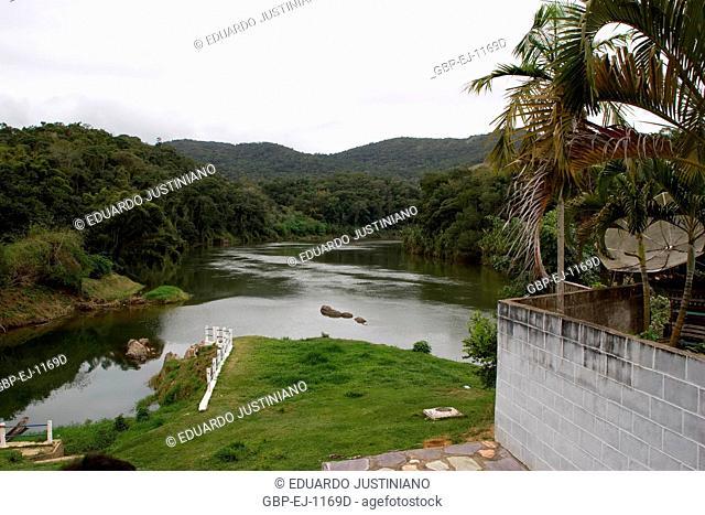 Ribeira River of Iguape, Iporanga, São Paulo, Brazil