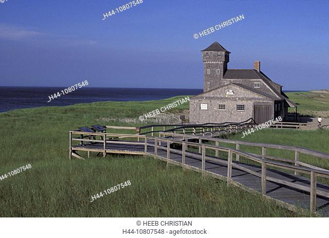 America, Cape Cod, Cape Cod National Seashore, near Provincetown, Massachusetts, Old harbor museum, United States, N
