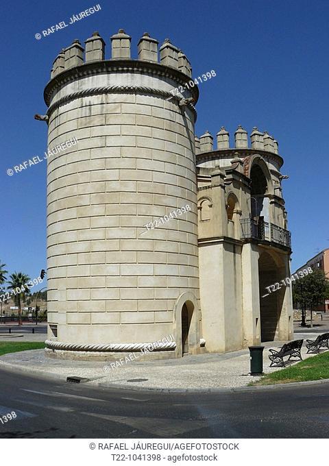 Puerta de Palmas, Badajoz. Extremadura, Spain