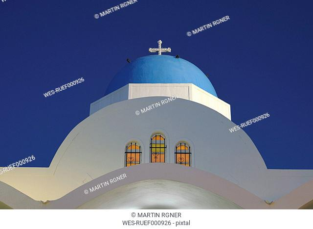 Greece, View of Firostefani church
