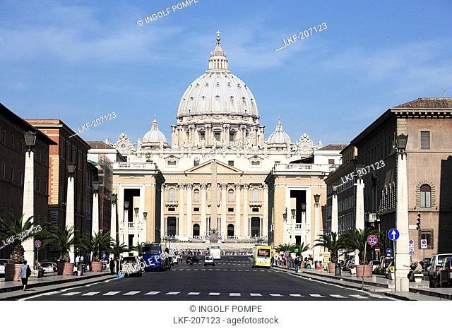 St. Peter's Basilica, Vatican City, Rome, Italy
