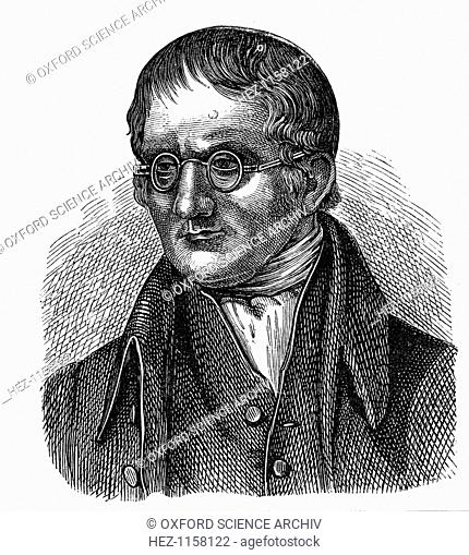 John Dalton, English chemist, 1881. Dalton (1766-1844) was born near Cockermouth, Cumbria. In 1794 he described colour blindness (Daltonism) from which both he...