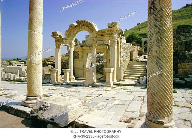 Hadrian's Temple, Ephesus, Turkey, Eurasia