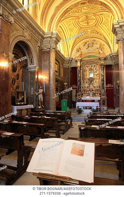 Italy, Lazio, Rome, SS Bartholomeo e Alessandro church