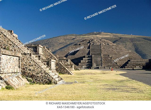 Pyramid of the Moon, Archaeological Zone of Teotihuacan, State of Mexico, Mexico