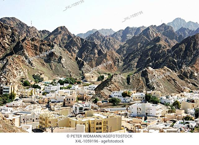 Old district of Muscat, Oman