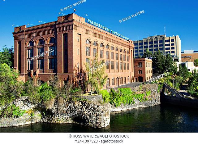 Avista power company building, formerly Washington Water Power, downtown Spokane, Washington, USA