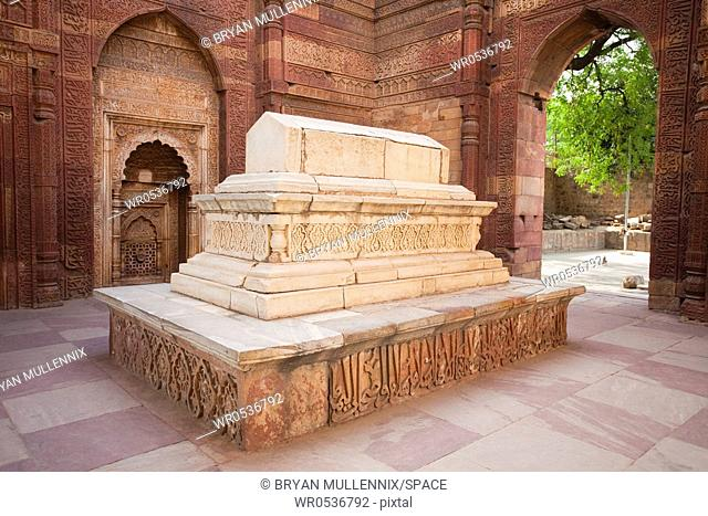 Stone Tomb of Iltutmish in India