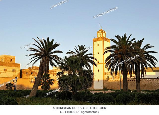Ben Youssef mosque in Medina of Essaouira, Morocco, North Africa