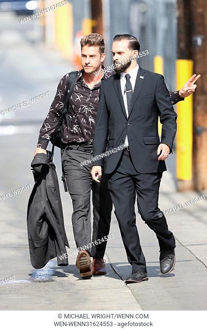 Scott Speedman arrives at the ABC studios for 'Jimmy Kimmel Live!' Featuring: Scott Speedman Where: Los Angeles, California
