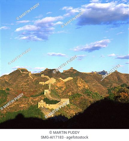 China, near Beijing, The Great Wall, Jinshanling, section of the Great Wall