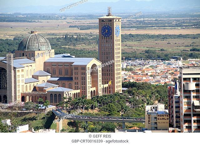 Sao Paulo; SP; Basilica of the National Shrine of Our Lady of Aparecida; Aparecida; Brazil