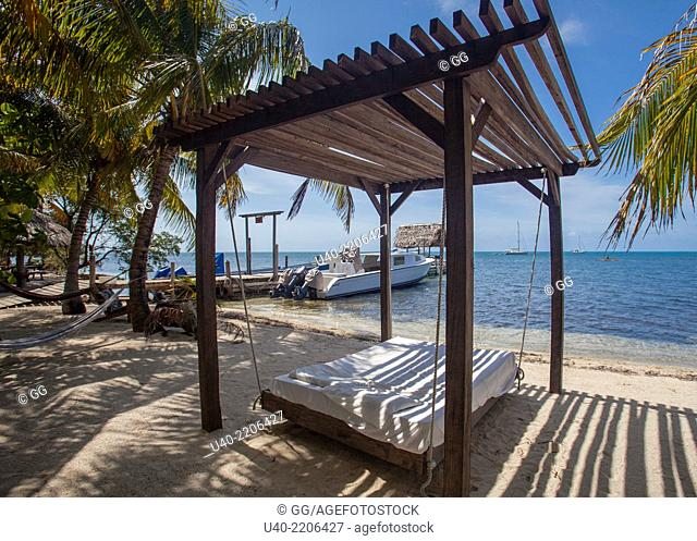 Belize, Glovers reef Atoll, long caye