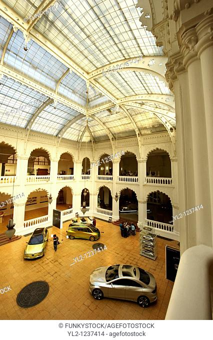 The interior of the Art Nouveau Museum of Applied Arts  Budapest Hungary