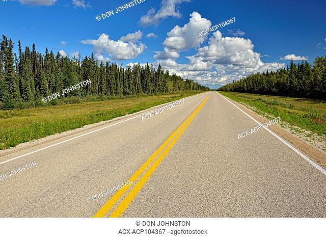 Highway 1 north to Enterprise, Enterprise, Northwest Territories, Canada