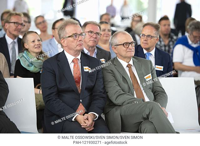 from left: Prof. Andreas KRUSE, psychologist, gerontologist and demographer as well as responsible author of the reports for the elderly of the Bundestag, Prof