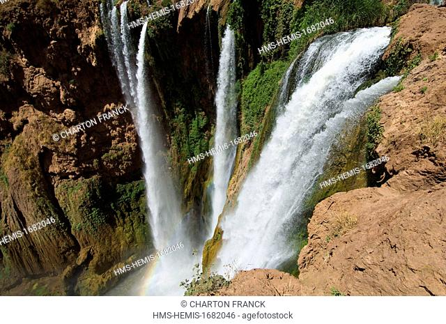 Morocco, Ouzoud waterfall