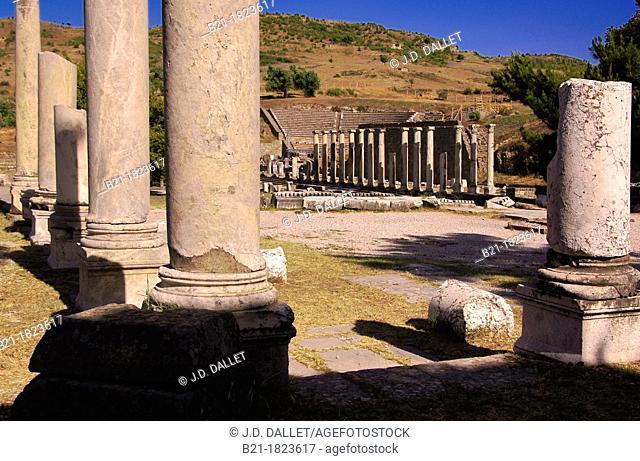 Asklepion medicinal sanctuary by Bergama, Izmir province, Turkey