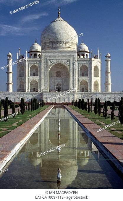 The Taj Mahal was commissioned by Mughal Emperor Shah Jahan as a mausoleum for his favourite wife,Mumtaz Mahal.Construction began in 1632 and was completed in...