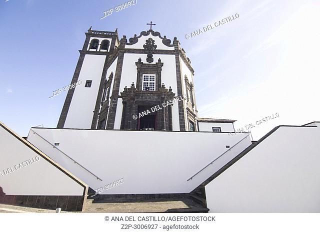 Sao Pedro church in Ponta Delgada Sao Miguel island, Azores archipelago, Portugal