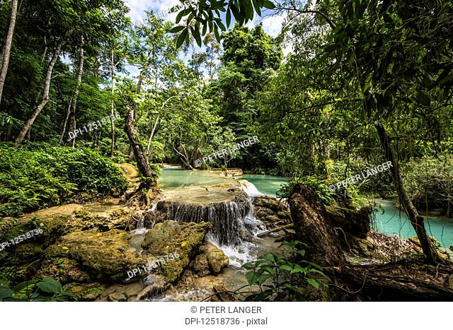 Kuang Si Falls; Luang Prabang, Laos