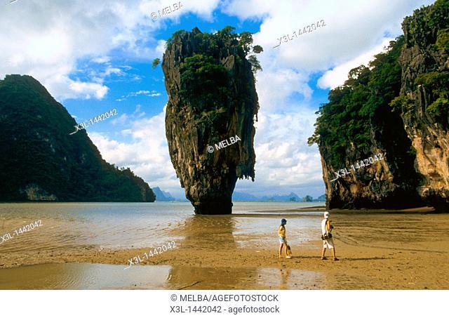 Karsts  Ao Phang-Nga National Park  Tailandia