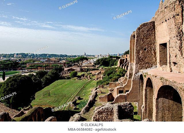 Europe, Rome, Fori, Palatine hill