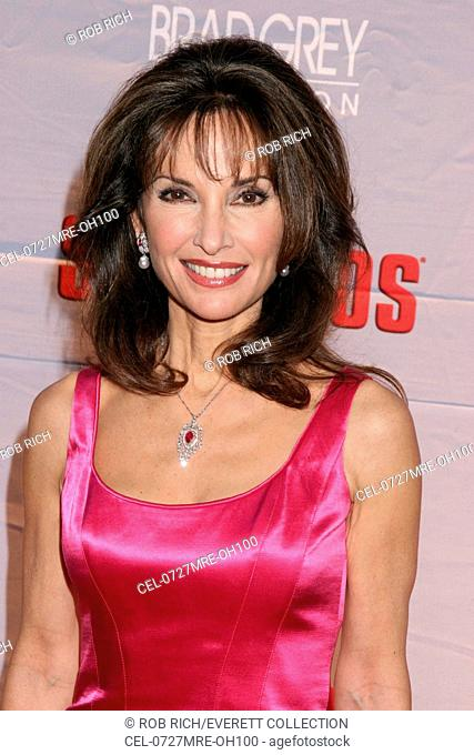 Susan Lucci at arrivals for HBO's THE SOPRANOS World Premiere Screening, Radio City Music Hall at Rockefeller Center, New York, NY, March 27, 2007
