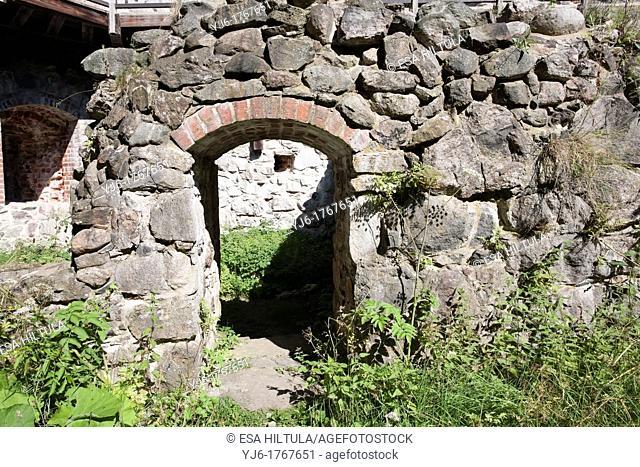 Raasepori medieval castle ruins, Finland