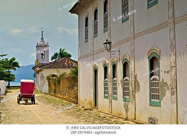Capela de Nossa Senhora das Dores (Chapel of Our Lady of Sorrows). Paraty. Brazil