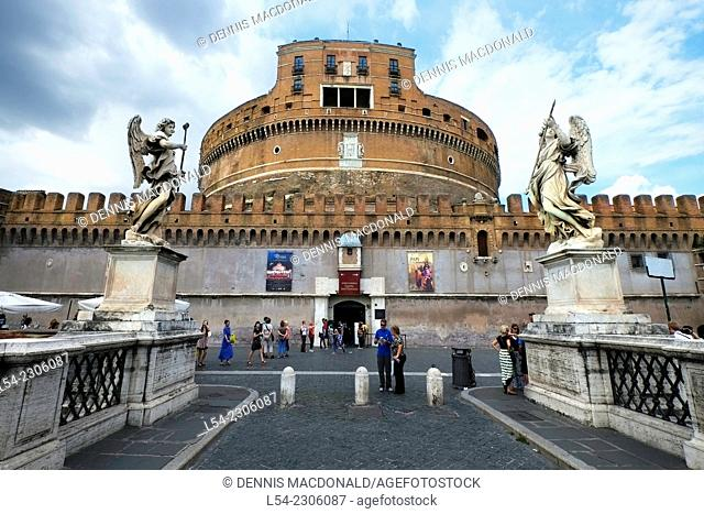 Hadrian's Mausoleum Castle St. Angelo Rome Italy IT EU Europe