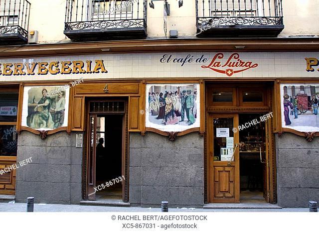 Tavern, Madrid, Spain