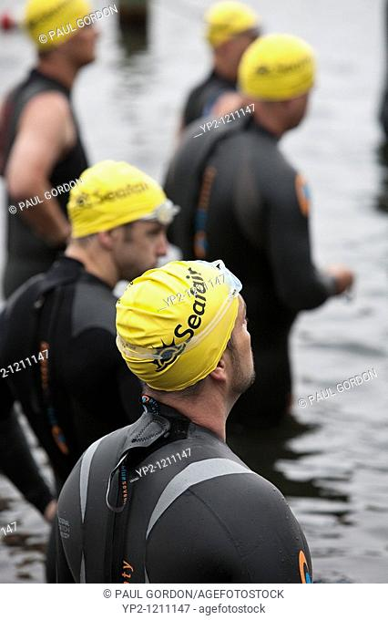 Benaroya Research Institute Triathlon at Seafair - July 18, 2010 - The race benefits millions of people affected by autoimmune disease