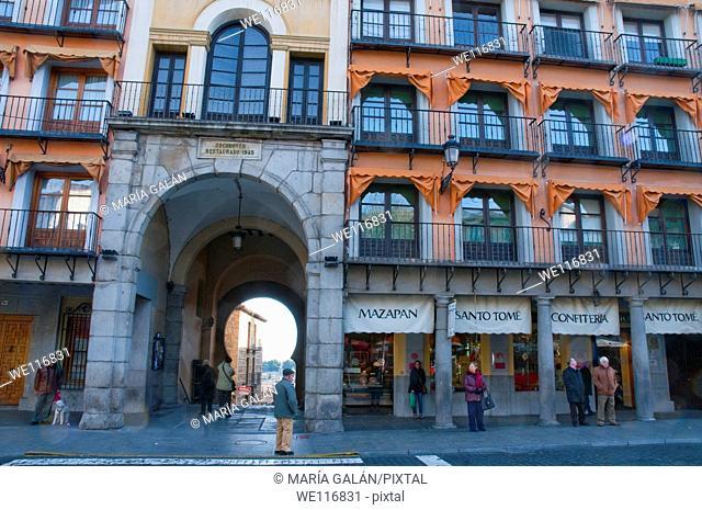 Zocodover Square  Toledo, Castilla La Mancha, Spain