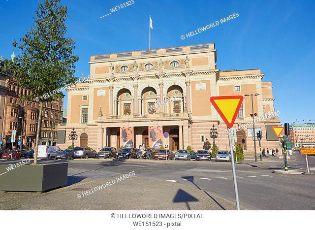 Royal Swedish Opera (Kungliga Operan), Gustav Adolfs Torg, Norrmalm, Stockholm, Sweden, Scandinavia