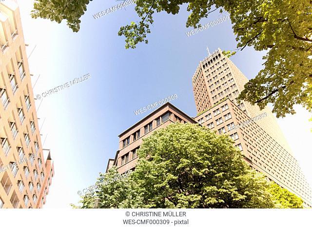 Germany, Berlin, Kollhoff-Tower at Potsdam Square