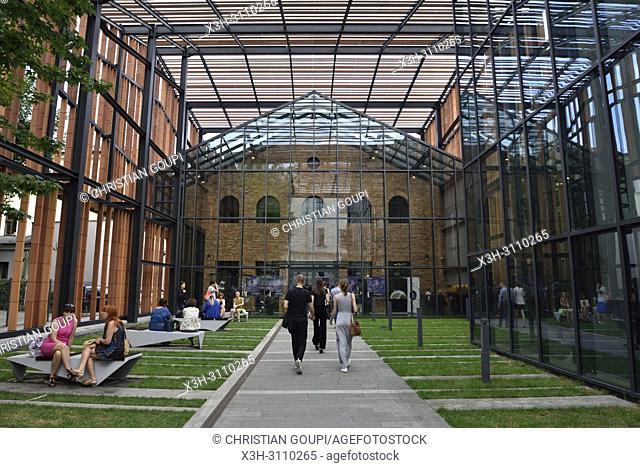 Malopolski Ogrod Sztuki - MOS (Architects: Ingarden & Ewy Architects), regional cultural center, 12 Rajska Street, Krakow, Malopolska Province (Lesser Poland)