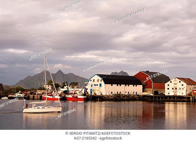 Svolvaer, Lofoten Islands, Norway